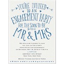Almost Mr. and Mrs. Engagement Party Invitation