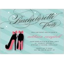 Bachelorette Shoes Bachelorette Party Invitation