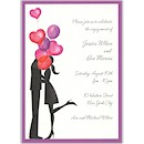 Balloon Love Engagement Party Invitation
