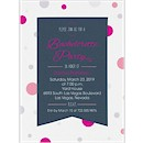 Banner Dots Bachelorette Party Invitation