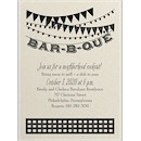 Bar-B-Que Style Party Invitation