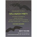Bats Night Out Halloween Party Invitation