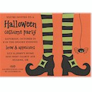 Bewitched Tights Halloween Party Invitation
