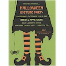 Bewitched in Style Halloween Party Invitation