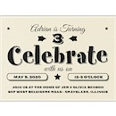 Big Celebrate Birthday Party Invitation