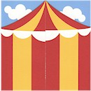 Big Top Bash Birthday Party Invitation