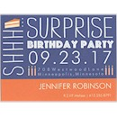 Birthday Caper in Cobalt Birthday Party Magnet