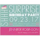 Birthday Caper in Lagoon Birthday Party Magnet