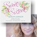 Boho Sixteen Sweet Sixteen Party Invitation