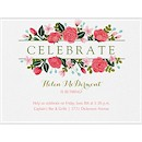 Celebrate Roses Party Invitation