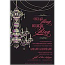 Chandelier Suite C Party Invitation