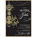 Chandelier Suite D Party Invitation