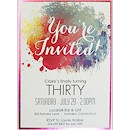 Color Burst Suite A Party Invitation