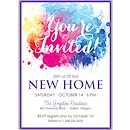 Color Burst Suite C Party Invitation