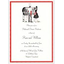 Cook Out Couple Party Invitation