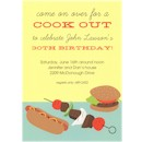 Cookout Birthday Party Invitation