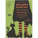 Cosmic Creeper is Bewitched Halloween Invitation