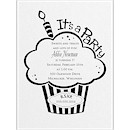 Cupcake Party Birthday Party Invitation