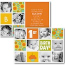 Cupcake Sweet Photo Birthday Party Invitation