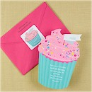 Cute as a Cupcake Birthday Party Invitation
