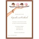 Dessert Tray Party Invitation