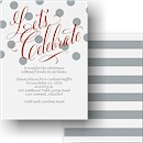 Dots and Shine Party Invitation