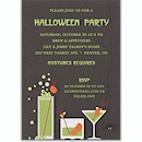 Drinks Friendly Style Halloween Party Invitation