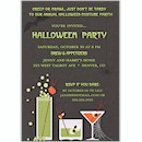 Drinks Scary Style Halloween Party Invitation