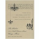 Chandelier Dinner Party Invitation