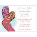 Fashionable Flip Flops Party Invitation