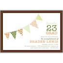 Festive Banner Suite D Party Invitation