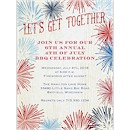 Fireworks Style Party Invitation