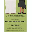 Float or Fly Costume Pair Halloween Invitation