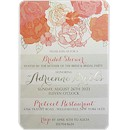 Floral Shimmer Suite A Party Invitation