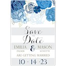 Floral Shimmer Suite D Party Invitation