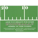 Football Sideline Party Invitation