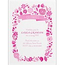 Fun Floral Party Invitation