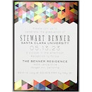 Geometric Suite A Party Invitation