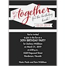 Get Together Birthday Party Invitation