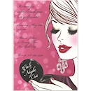 Glam Girl Girls' Night Out Party Invitation