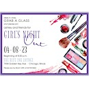 Glamour Suite D Party Invitation