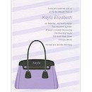 Handbag Party Invitation