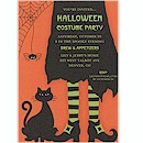 Here Comes Trouble Halloween Party Invitation