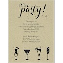 It's a Cocktail Party Party Invitation