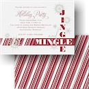 Jingle and Mingle Holiday Party Invitation