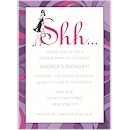 Lavender Surprise Birthday Party Invitation