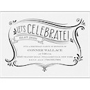 Let's Celebrate Party Invitation