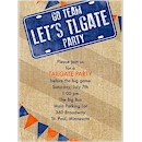 Let's Tailgate Party Invitation