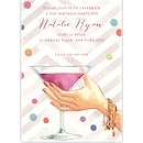 Martini Cheers Party Invitation