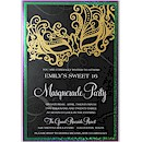 Masquerade Suite A Party Invitation